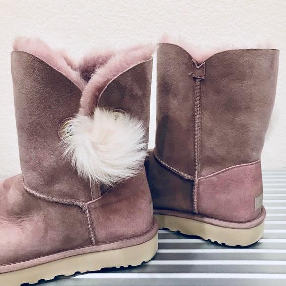 d288449ee2a UGG Irina Dusk Suede Swarovski Crystal Boots NWOB